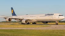 D-AIHA - Lufthansa Airbus A340-600 aircraft