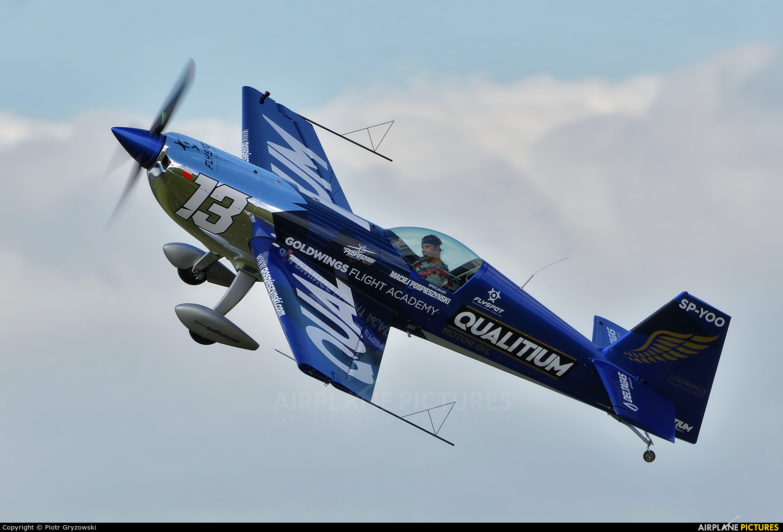 Private SP-YOO aircraft at Rybnik - Gotartowice