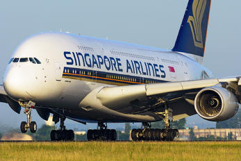 9V-SKK - Singapore Airlines Airbus A380