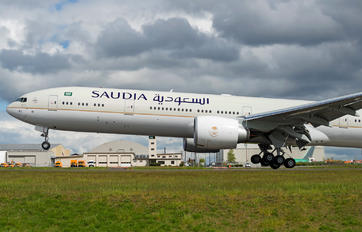 HZ-AK43 - Saudi Arabian Airlines Boeing 777-300ER