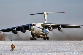 RA-76745 - Russia - Air Force Ilyushin Il-76 (all models)