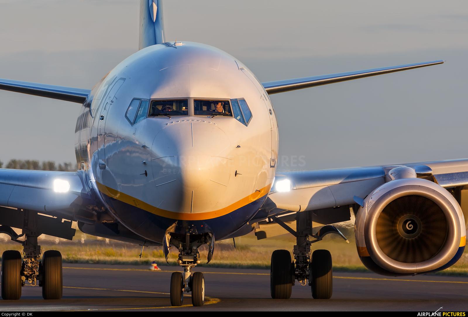 Ryanair EI-FZA aircraft at Berlin - Schönefeld