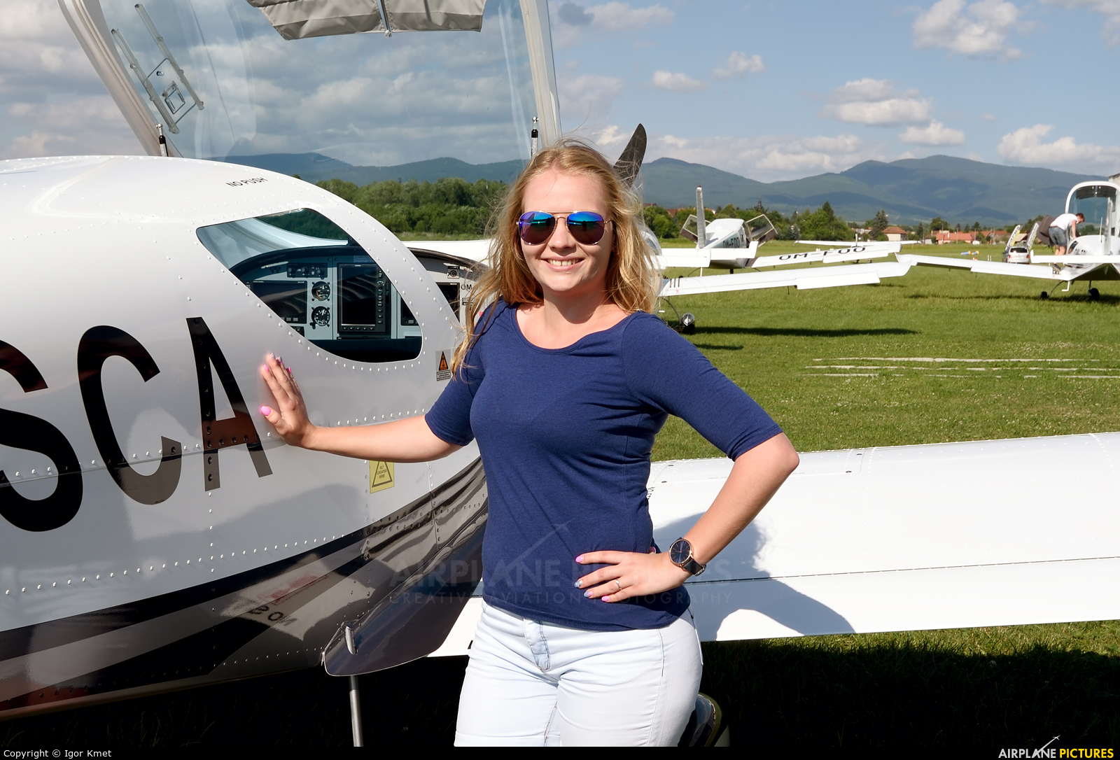 - Aviation Glamour - aircraft at Očová