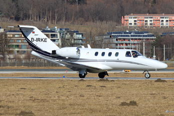 D-IRKE - Private Cessna 525 CitationJet