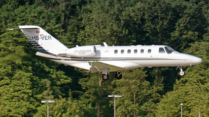 HB-VER - Swiss Private Flights Cessna 525A Citation CJ2