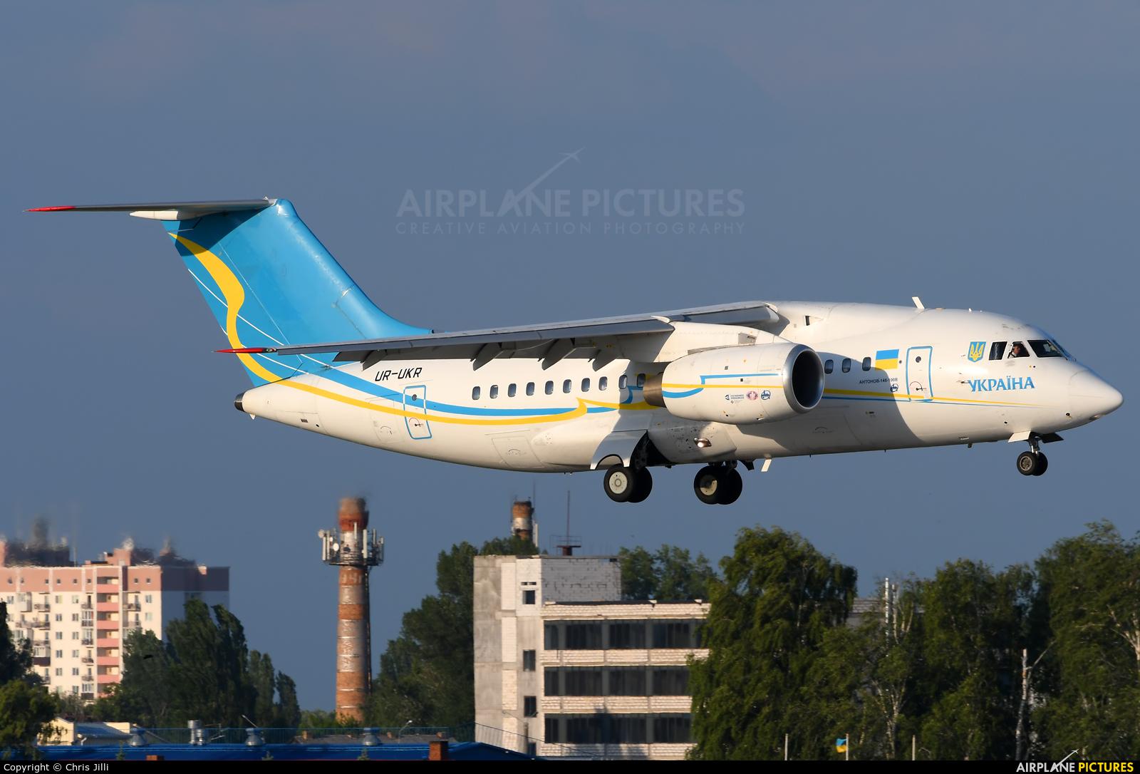 Ukraine - Government UR-UKR aircraft at Kiev - Borispol