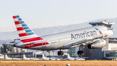 N828AW - American Airlines Airbus A319