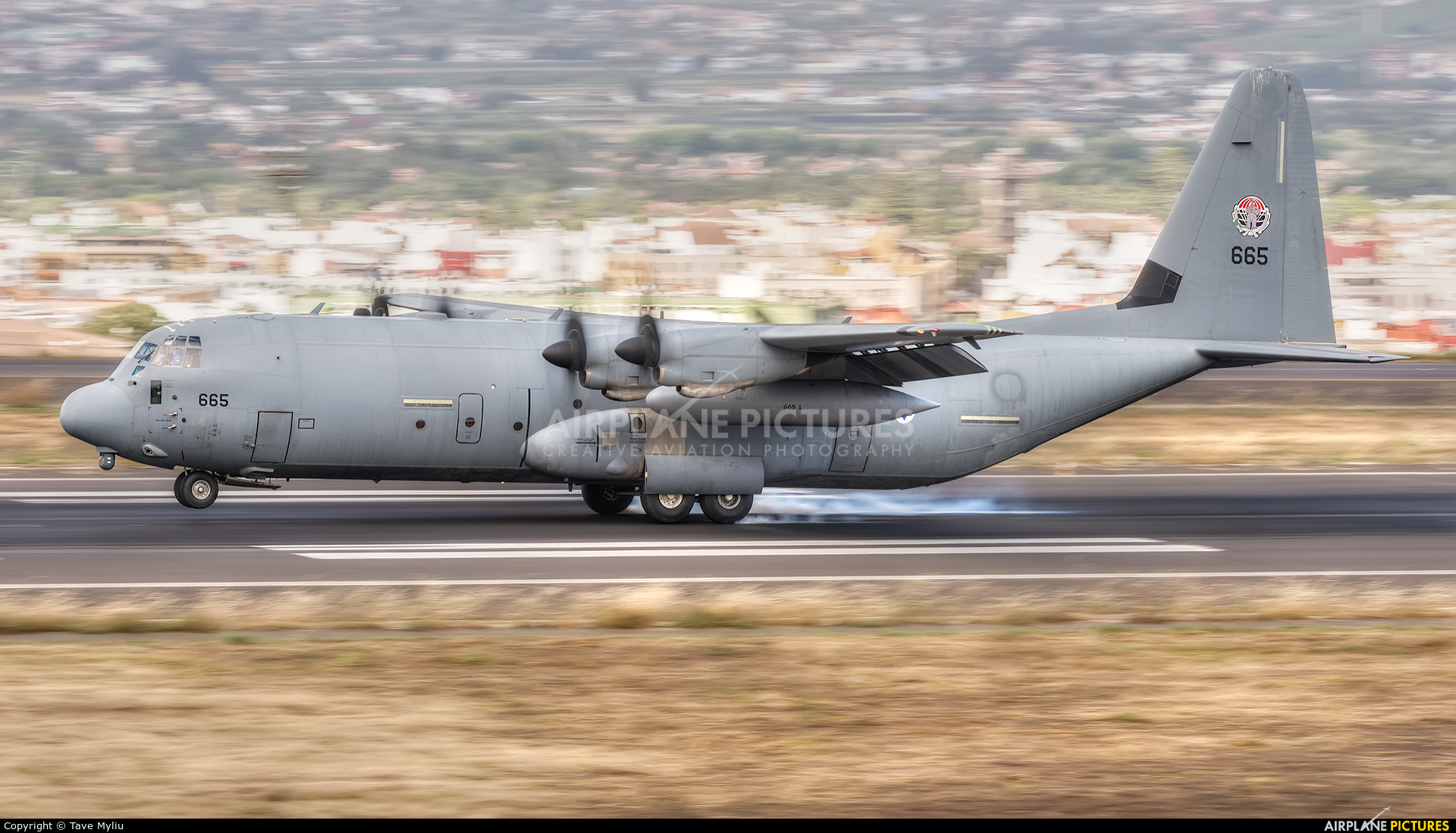 Israel - Defence Force 4X-665 aircraft at Tenerife Norte - Los Rodeos