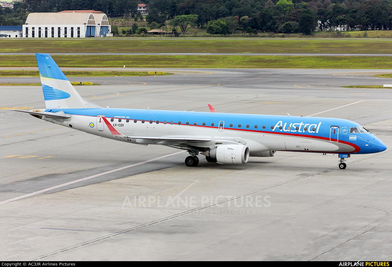 Austral Lineas Aereas LV-CDY aircraft at São Paulo - Guarulhos