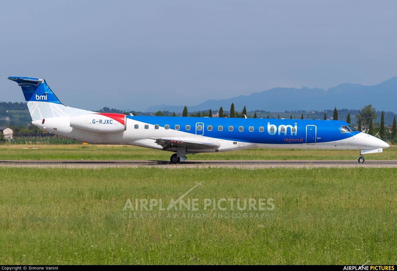 BMI Regional G-RJXC aircraft at Verona - Villafranca