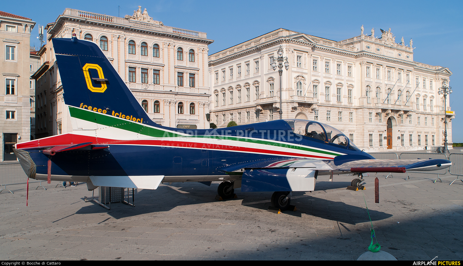 "Italy - Air Force ""Frecce Tricolori"" MM54547 aircraft at Off Airport - Italy"