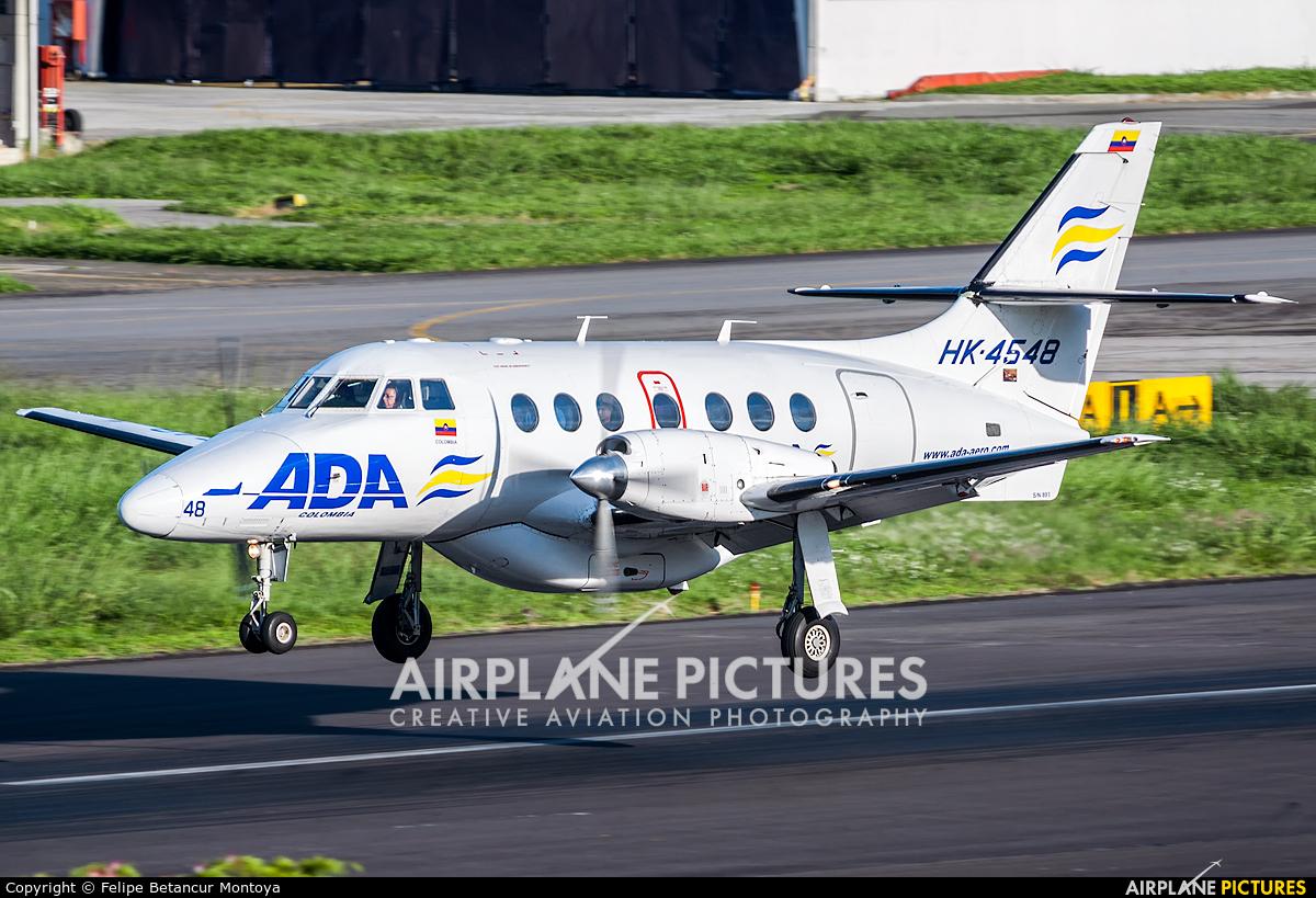 ADA Aerolinea de Antioquia HK-4548 aircraft at Medellin - Olaya Herrera
