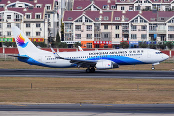 B-1553 - Donghai Airlines Boeing 737-800