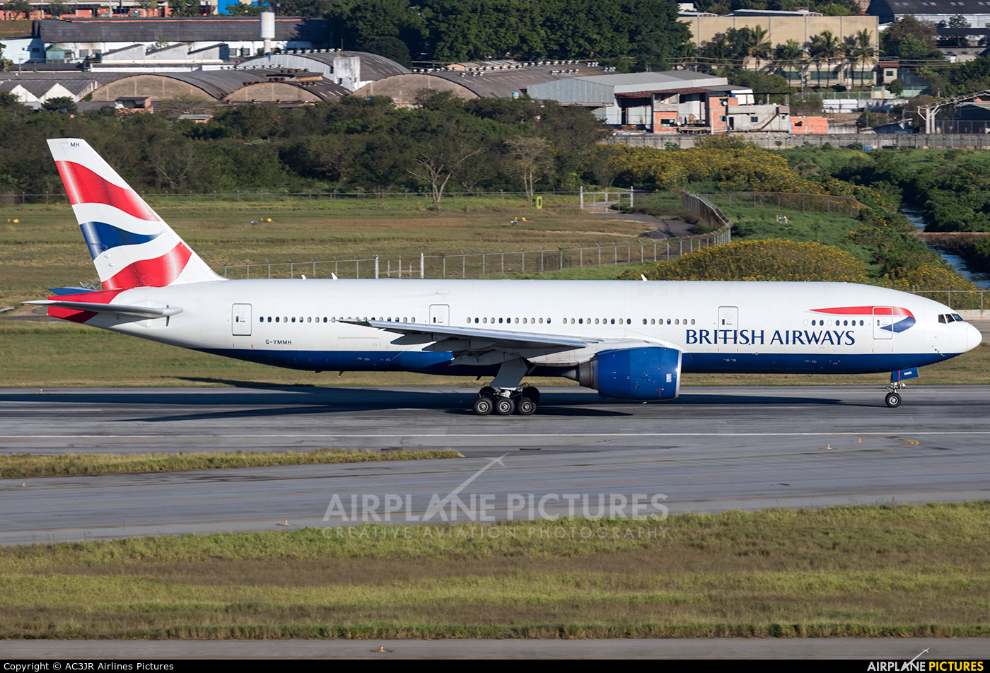 British Airways G-YMMH aircraft at São Paulo - Guarulhos