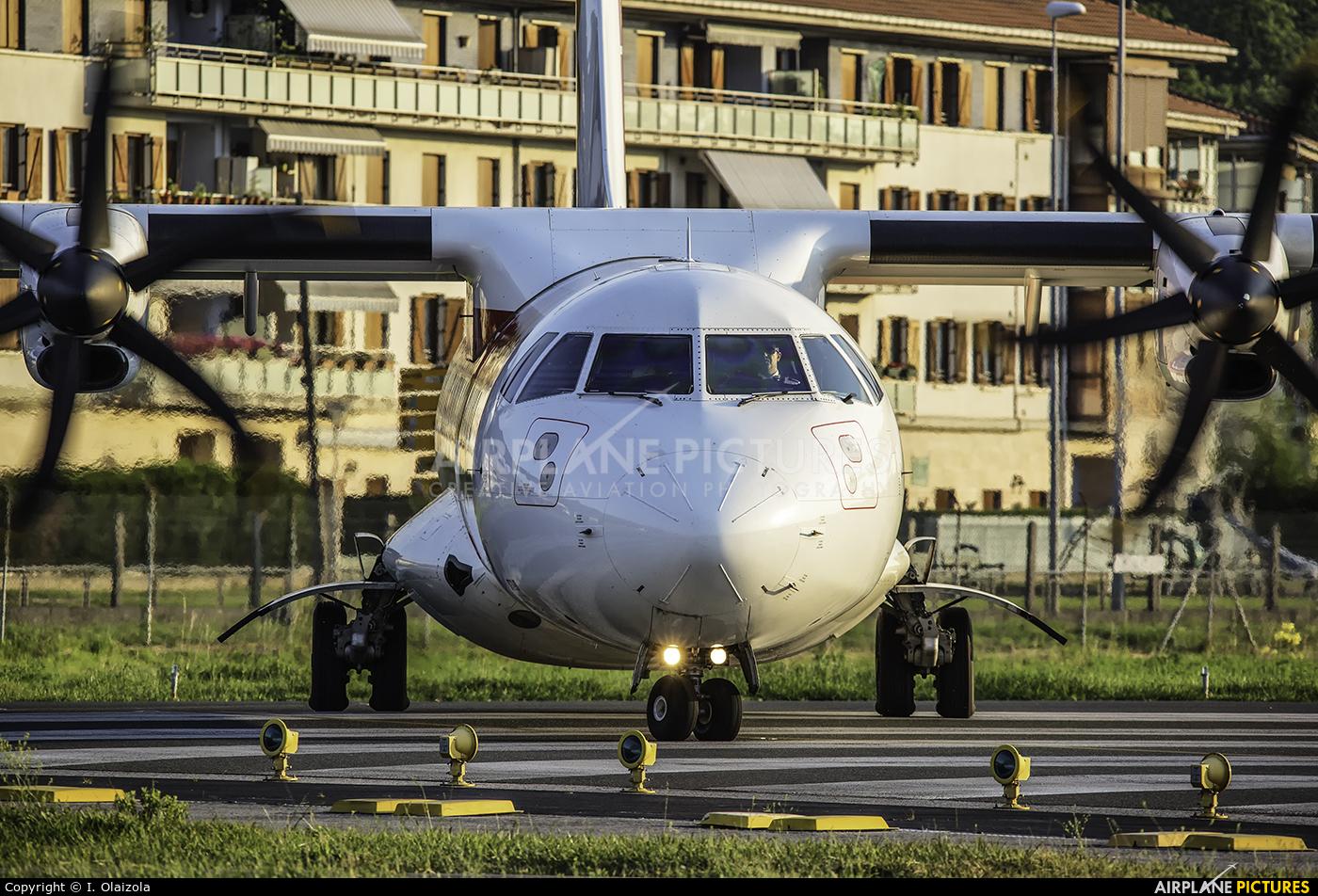 Air Nostrum - Iberia Regional EC-LSQ aircraft at San Sebastian