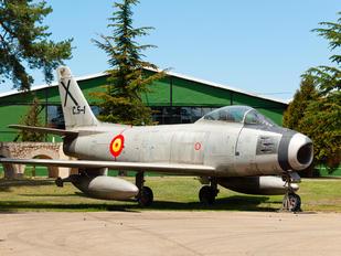 C.5-1 - Spain - Air Force North American F-86F Sabre