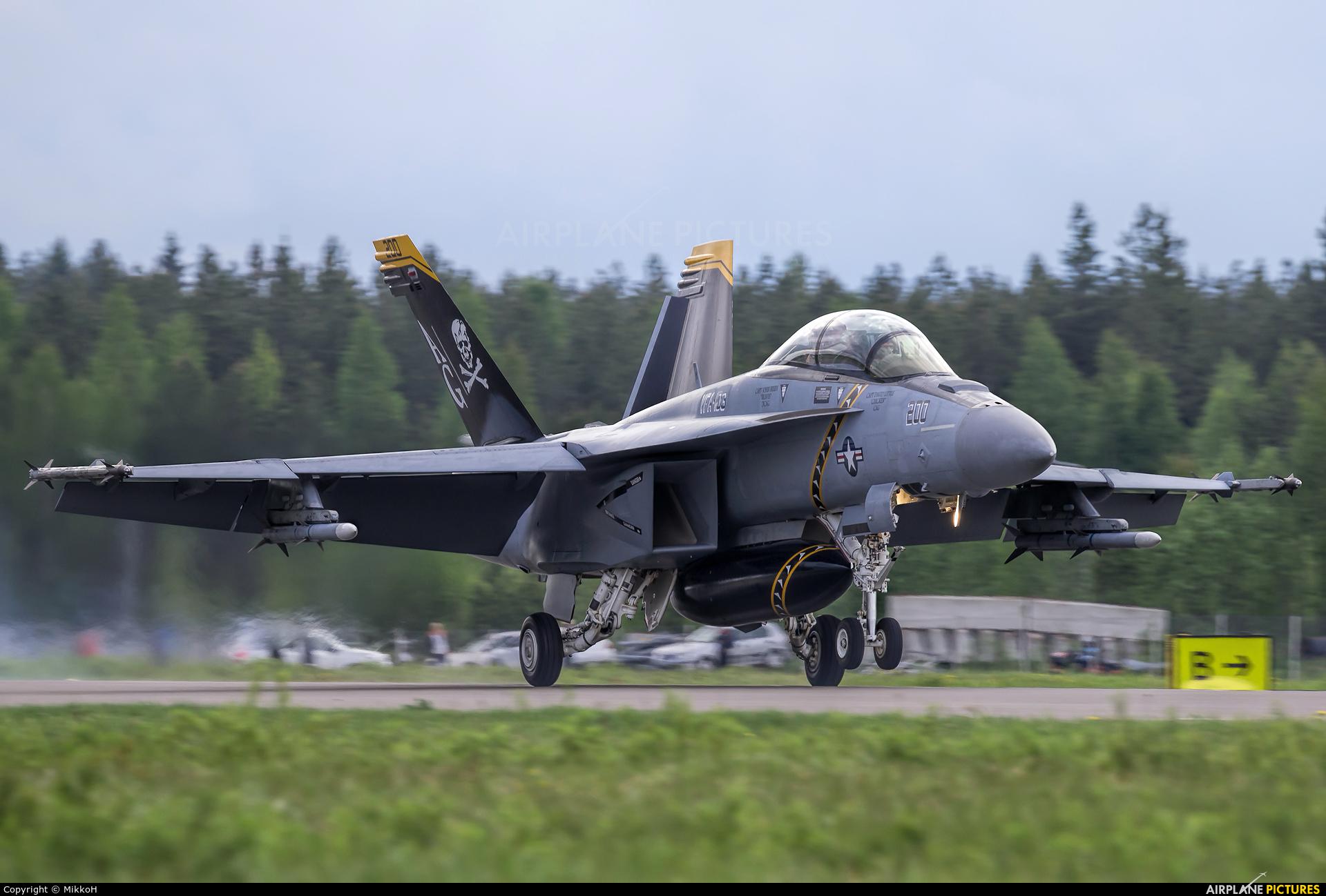 USA - Navy 168493 aircraft at Seinäjoki Airport