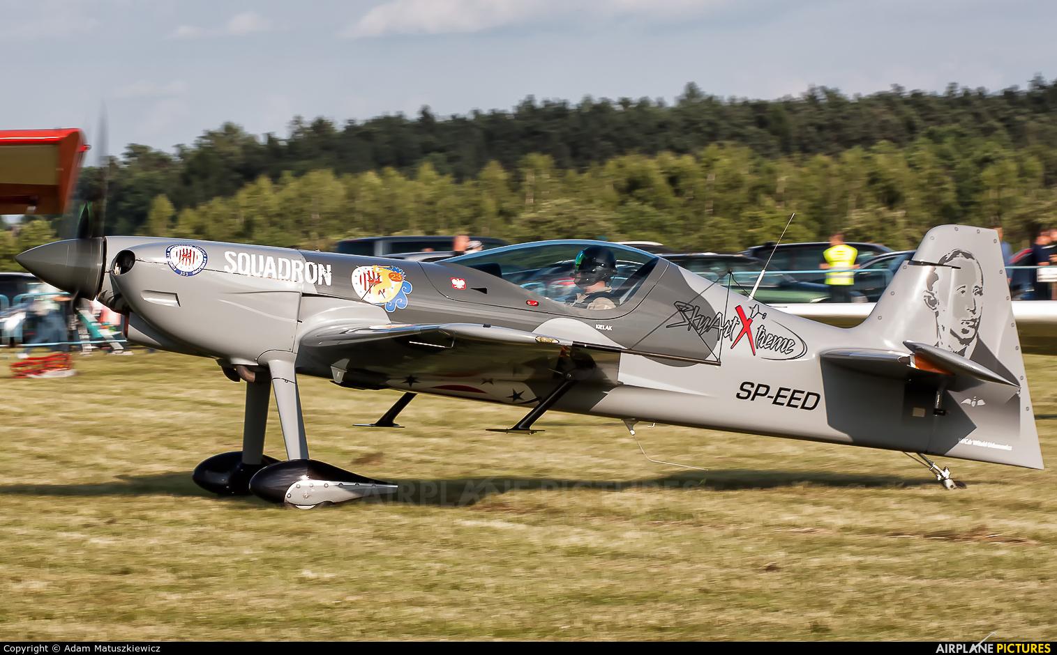 Private SP-EED aircraft at Rybnik - Gotartowice