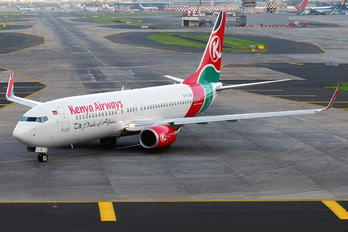 5Y-CYB - Kenya Airways Boeing 737-800