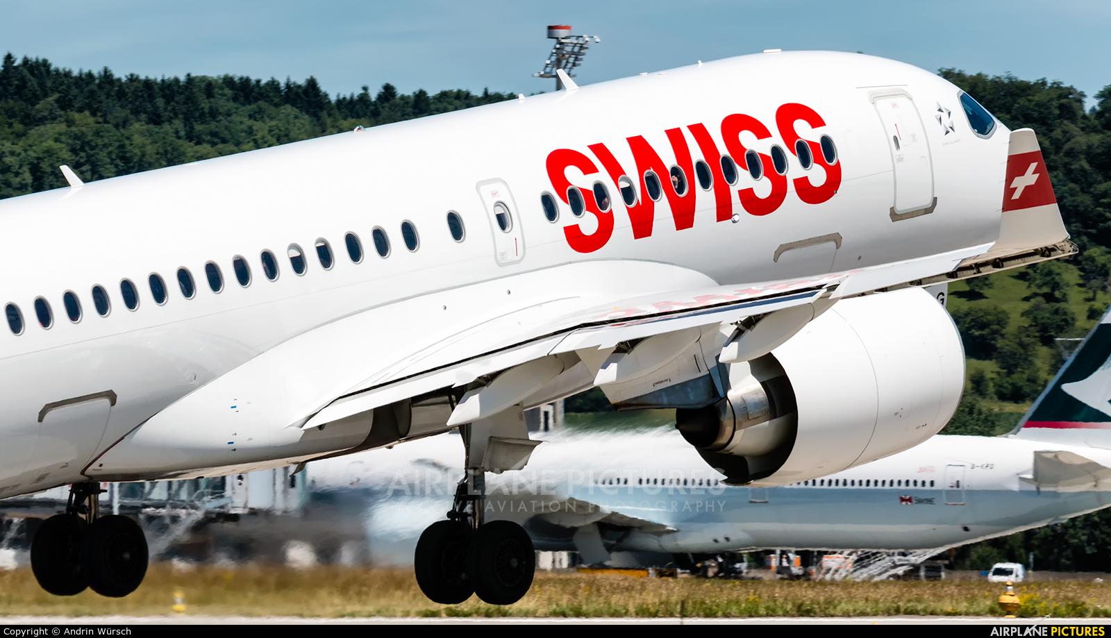 Swiss HB-JBG aircraft at Zurich