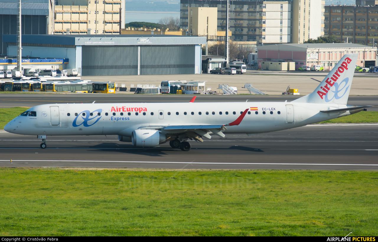 Air Europa EC-LEK aircraft at Lisbon