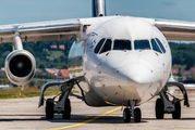 HB-IYU - - Airport Overview British Aerospace BAe 146-300/Avro RJ100 aircraft