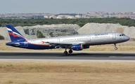 VQ-BEG - Aeroflot Airbus A321 aircraft