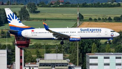 TC-SOA - SunExpress Boeing 737-800