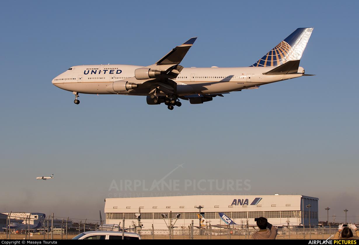 United Airlines N180UA aircraft at Tokyo - Narita Intl