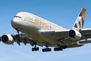 A6-APC - Etihad Airways Airbus A380 aircraft