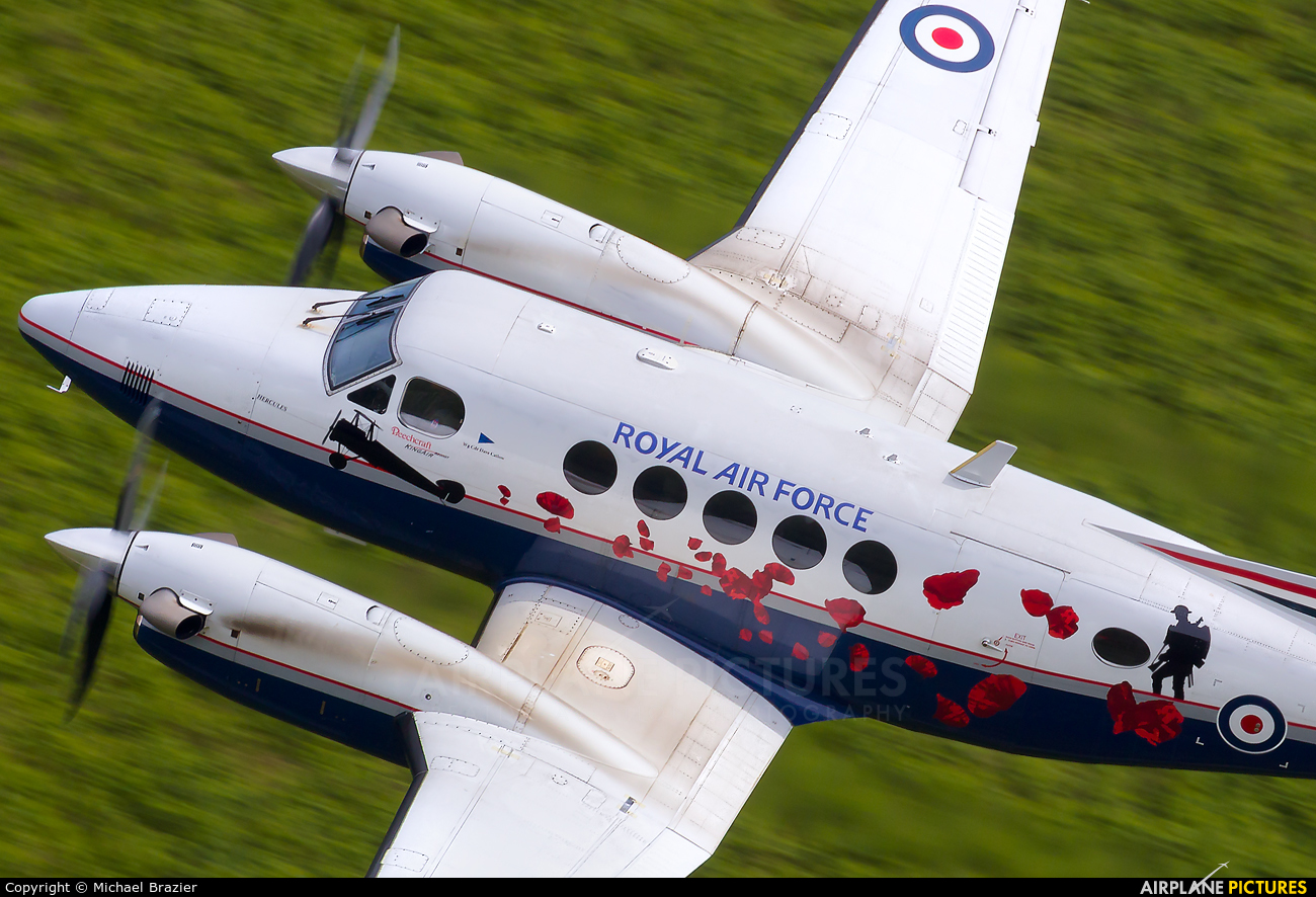 Royal Air Force ZK459 aircraft at Machynlleth Loop - LFA 7