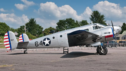 G-BKGL - Private Beechcraft 18 Twin Beech, Expeditor