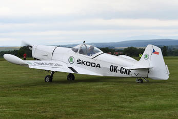 OK-CXF - Private Zlín Aircraft Z-526AFS