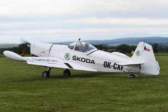 OK-CXF - Private Zlín Aircraft Z-526AFS