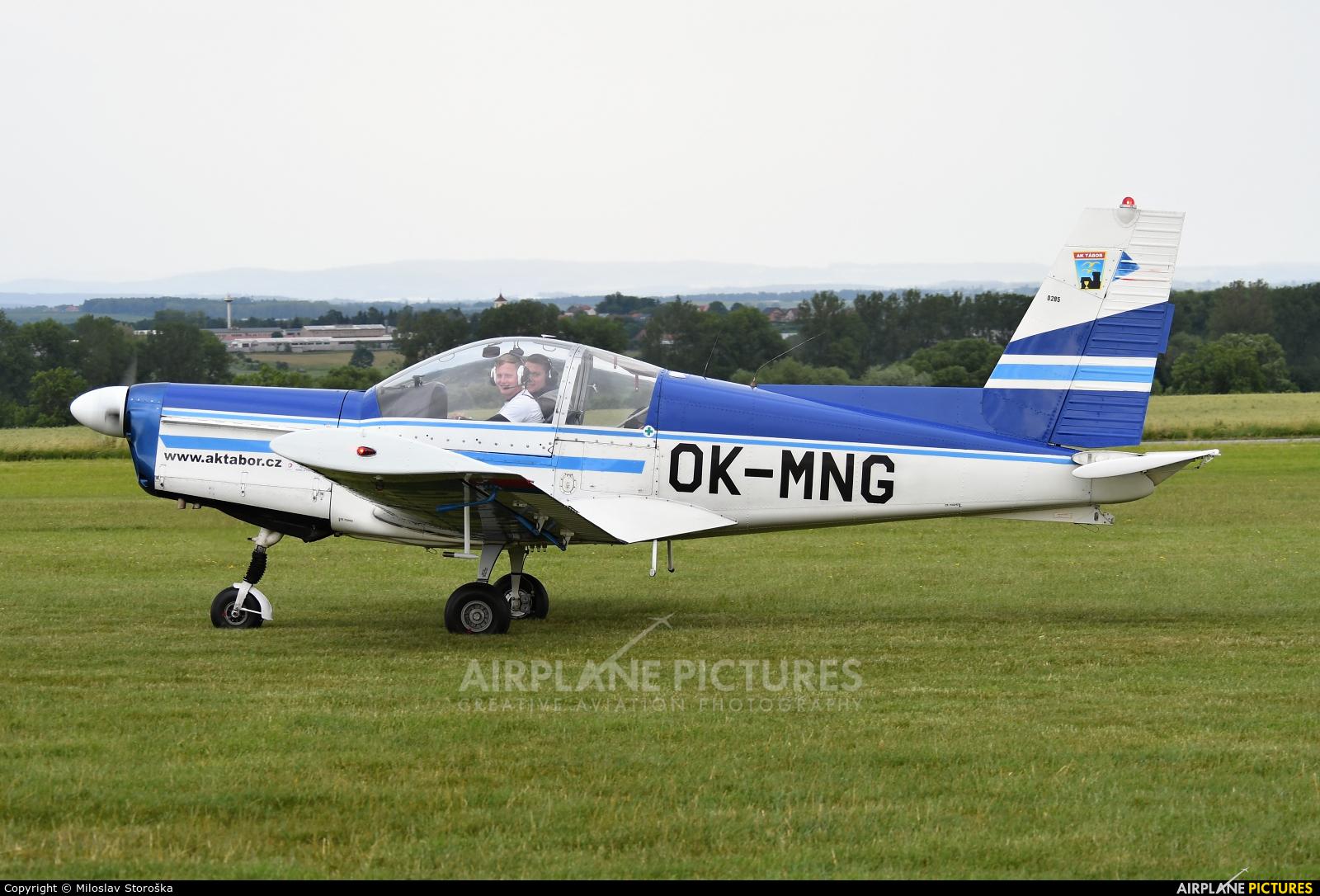 Aeroklub Tábor OK-MNG aircraft at Jaroměř - Josefov