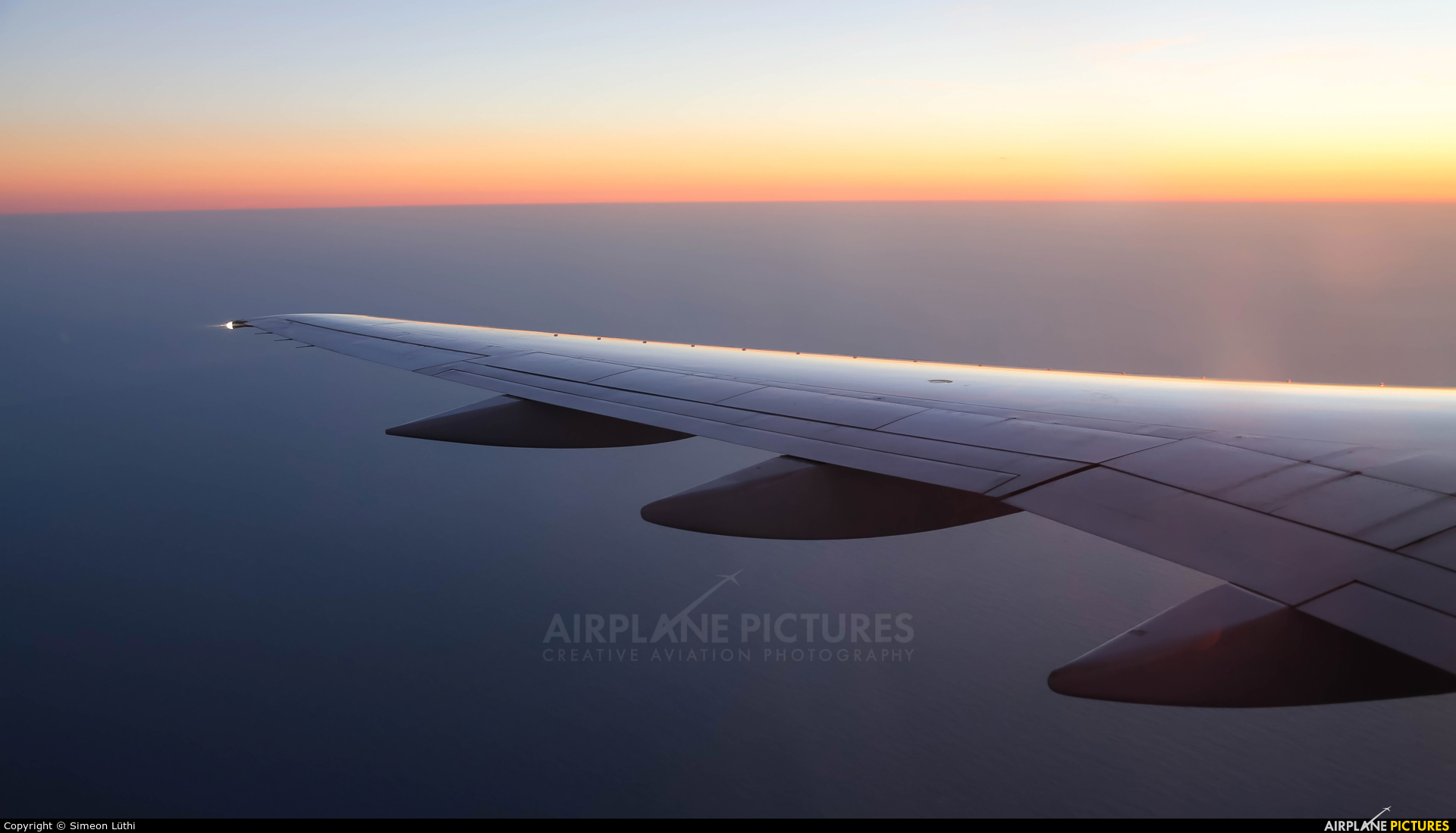 United Airlines N594UA aircraft at In Flight - California
