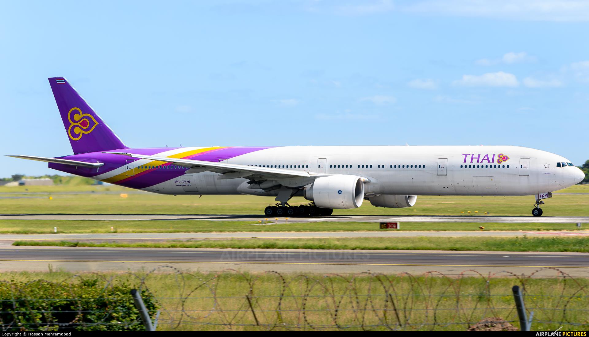 check in thai airways københavn