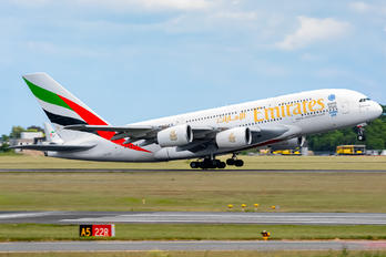 A6-EOP - Emirates Airlines Airbus A380