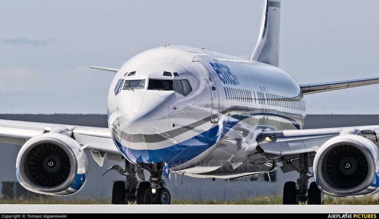 Enter Air SP-ESA aircraft at Rzeszów-Jasionka