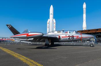 F-AZPF - Private Fouga CM-170 Magister