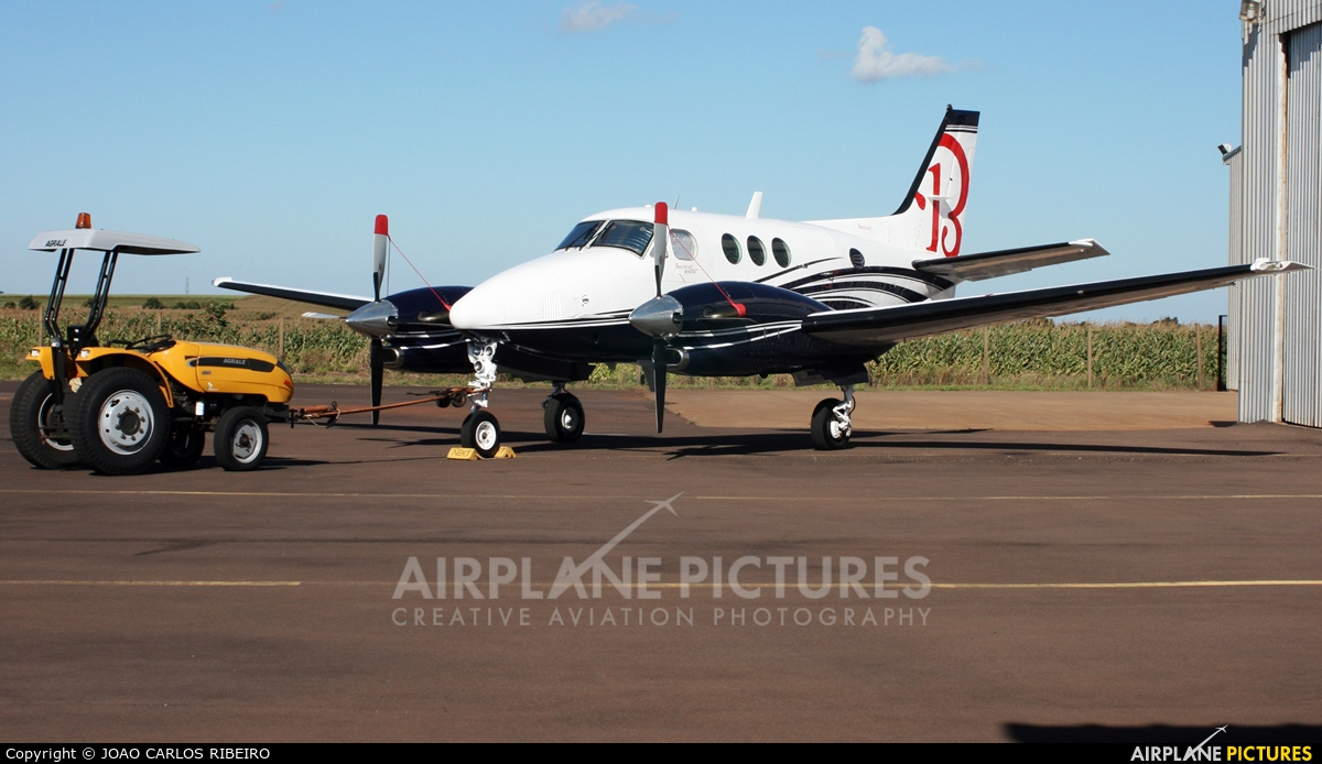 Private PT-OTG aircraft at Municipal Airport Cascavel