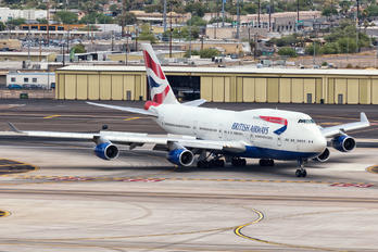 G-CIVE - British Airways Boeing 747-400
