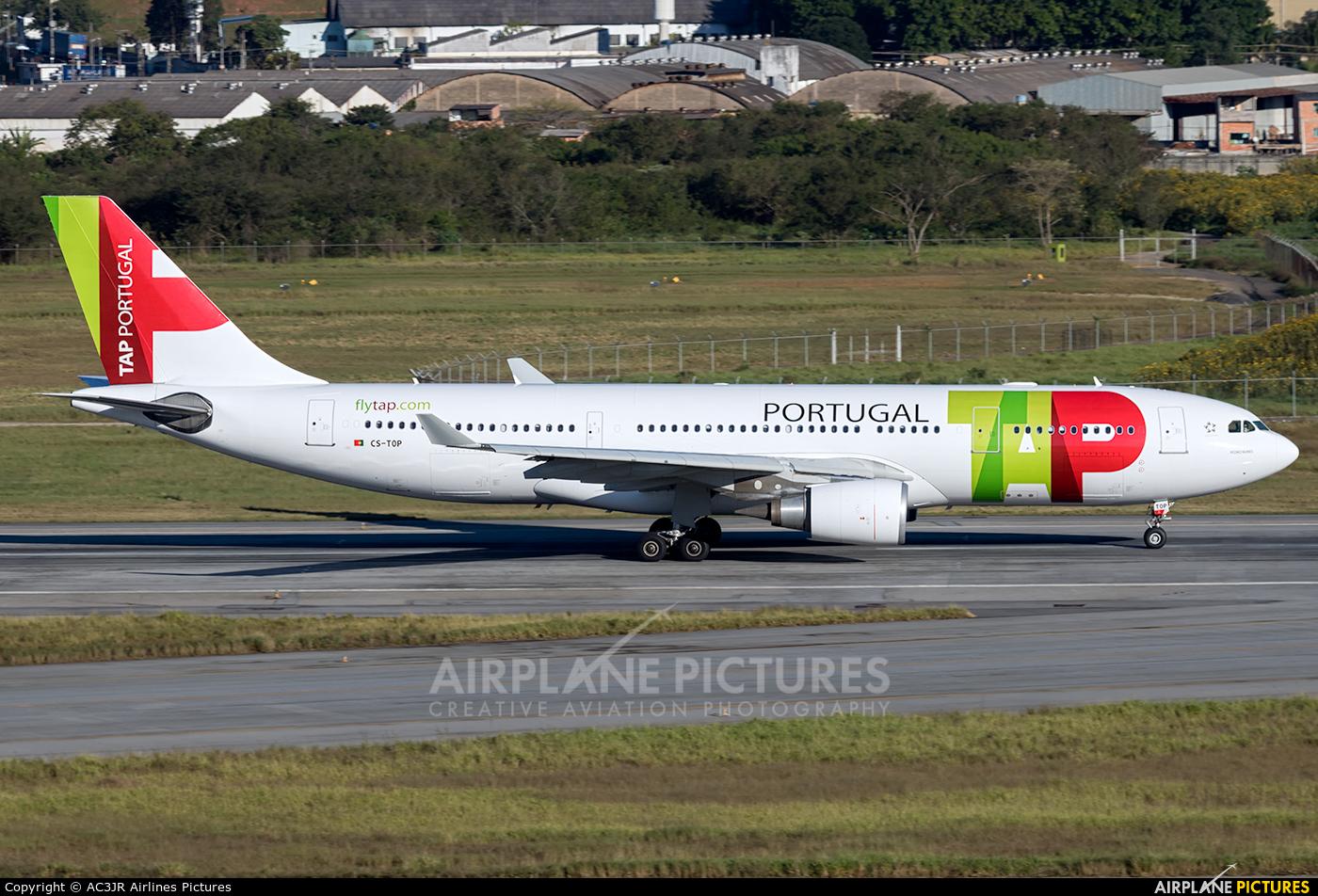 TAP Portugal CS-TOP aircraft at São Paulo - Guarulhos