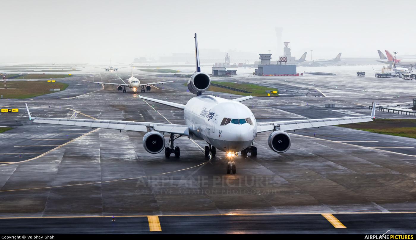 Lufthansa Cargo D-ALCB aircraft at Mumbai - Chhatrapati Shivaji Intl