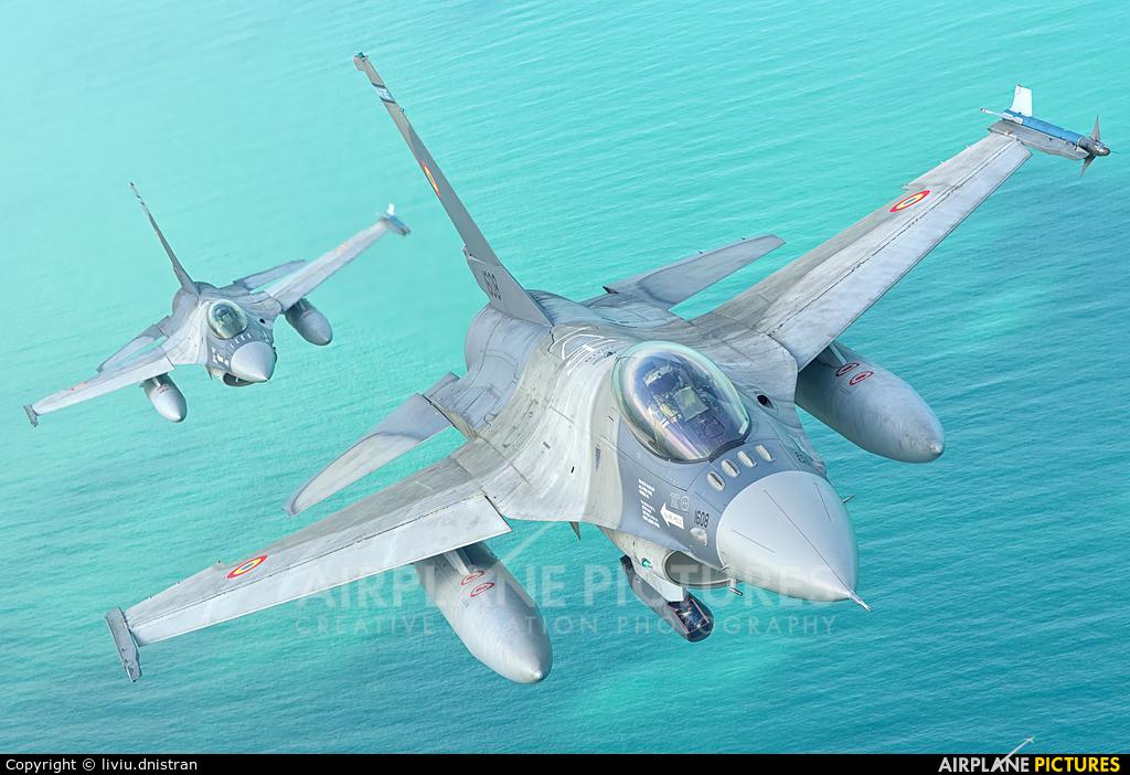Romania - Air Force 1608 aircraft at In Flight - Romania
