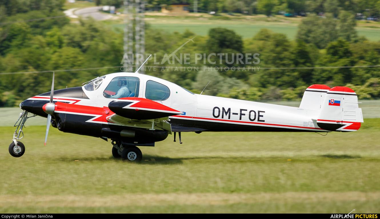 Private OM-FOE aircraft at Prievidza