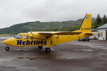 G-HEBO - Hebridean Air Services Britten-Norman BN-2 Islander