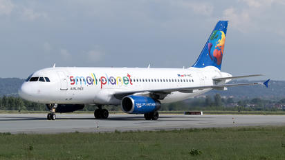 SP-HAC - Small Planet Airlines Airbus A320