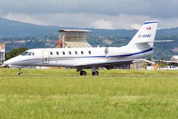 C-GAWU - Private Cessna 680 Sovereign