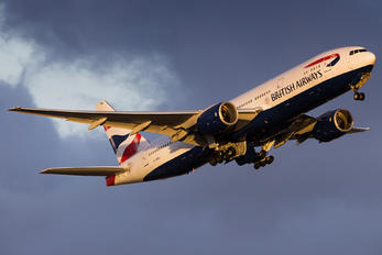 G-YMMJ - British Airways Boeing 777-200ER